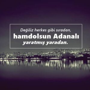 Adana sözleri