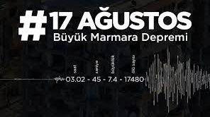 17 ağustos deprem mesajları