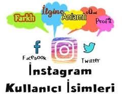 Instagram Kullanıcı Adları | Türkçe & İngilizce